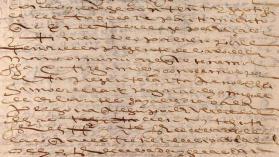 Aparecen más documentos inéditos sobre la actividad recaudatoria de Cervantes