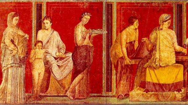 Resultado de imagen de El tesoro de Boscoreale, sepultado por el Vesubio