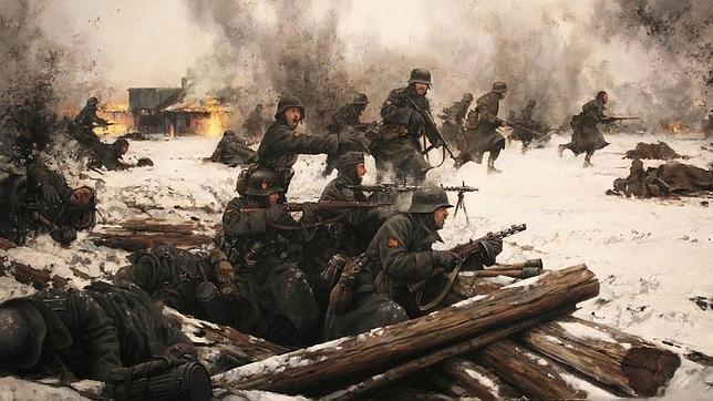La última batalla de la División Azul, los «andrajosos» e impávidos de Krasni Bor
