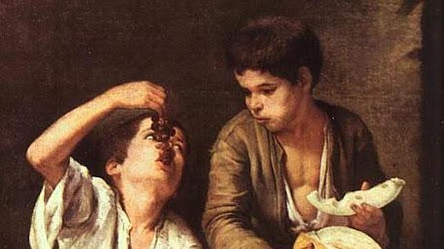 Imagen de la obra de Cervantes, Rinconete y Cortadillo