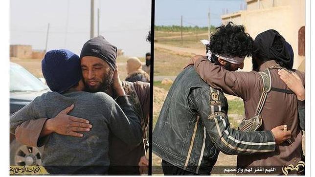 Yihadistas de Estado Islámico abrazan a los gais antes de lapidarlos en Siria