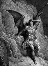 Representación de Satanás, por Gustave Doré