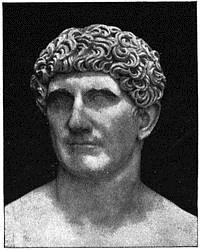 Busto de Marco Antonio en los Museos Vaticanos