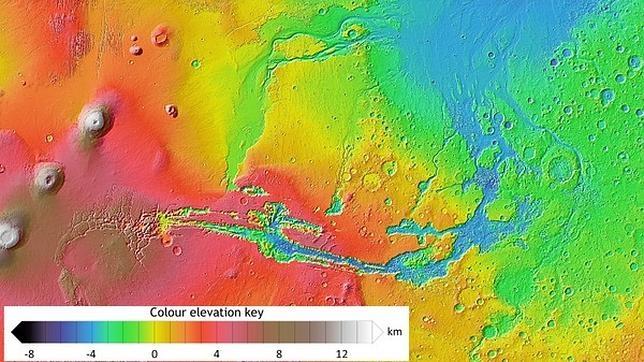 El subsuelo de Marte podría albergar «bolsas de hielo», según científicos