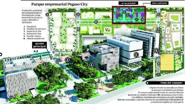 """Complejo """"Pegaso City"""", proyecto de megaciudad para Madrid - ABC.es"""