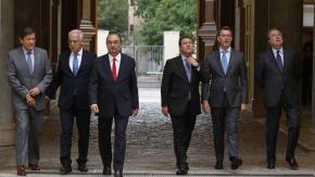 Resultado de imagen para Fotos de la alianza del PSOE con el PP contra los privilegios nacionalistas