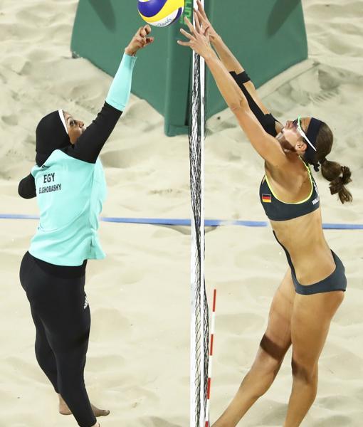 Contraste cultural en la vestimenta, Río 2016