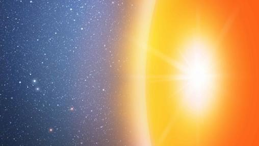 Después de una colisión, la superficie de los objetos masivos y sólidos brillaría de forma dramática durante meses o años