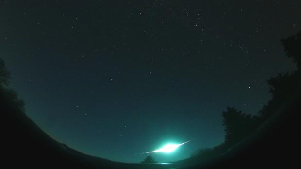 Un bólido detectado el 31 de octubre durante la lluvia de estrellas de las Táuridas