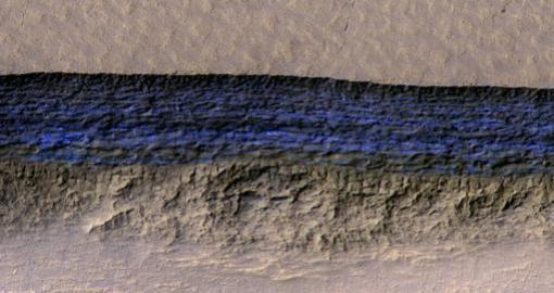 Acantilados de hielo analizados en este estudio