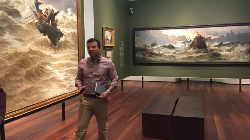 Una de las salas de pintura del XIX