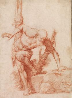 «Eremita atado a un árbol ¿San Alberto?», de Ribera