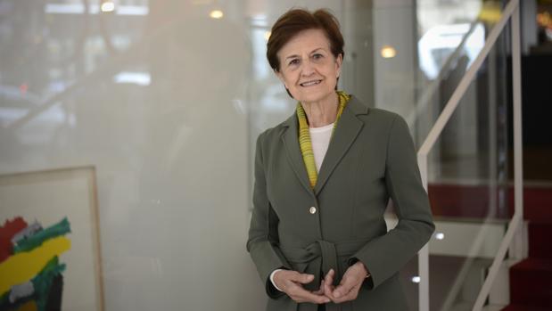 La filósofa Adela Cortina, fotografiada en Madrid poco antes de la entrevista