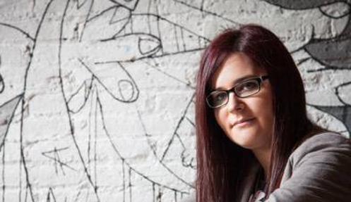 Marta Gracia Pons, autora de «Agujas de papel»