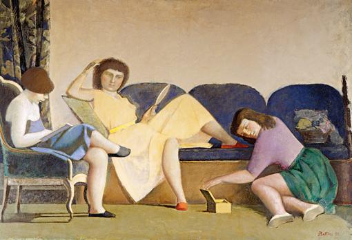 «Las tres hermanas» (1955), de Balthus