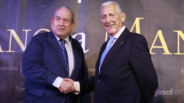 Paco Camino y Carlos Abella, mano a mano
