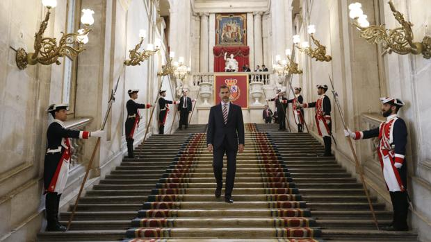 Don Felipe presidirá este lunes en el Palacio Real la clausura de los actos conmemorativos del IV centenario de Cervantes