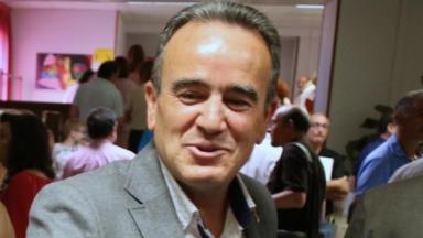 Juan Antonio Sánchez Quero (PSOE), presidente de la Diputación de Zaragoza