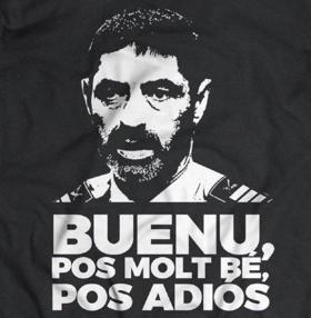 Camiseta con su frase
