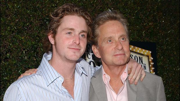 Cameron Douglas forma parte de una gran dinastía de actores entre los que están su padre y su abuelo