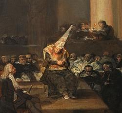 Escena de la Inquisición / Goya