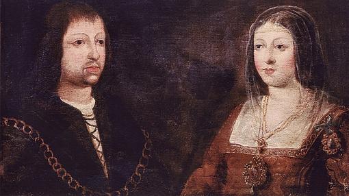 Los Reyes Católicos conquistadores de Granada.