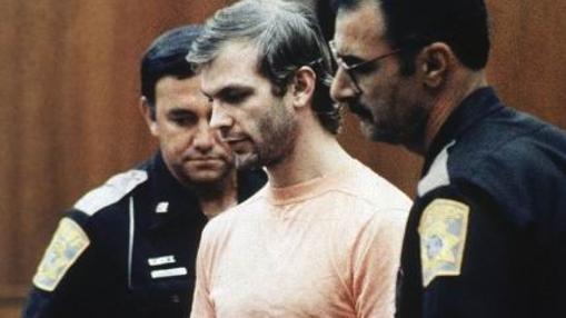 Dahmer, durante su detención