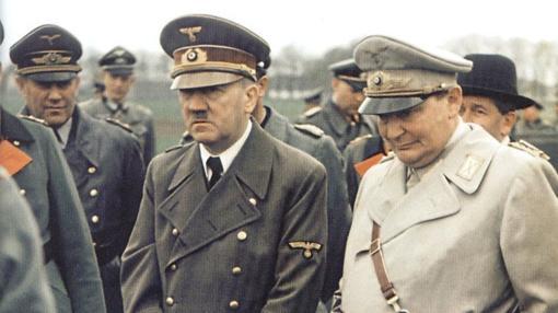 Goring, junto a Hitler