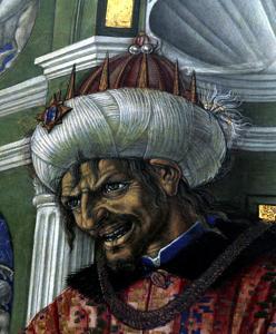 Herodes. Retrato de Matteo di Giovanni.
