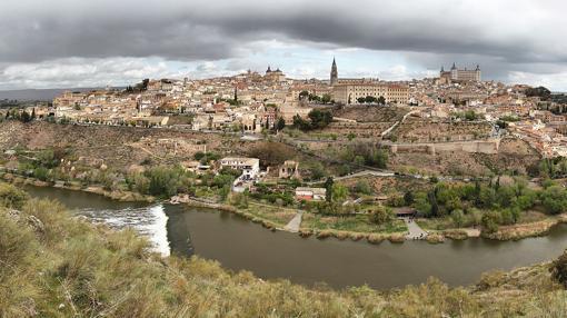 Vista panorámica de conjunto de Toledo