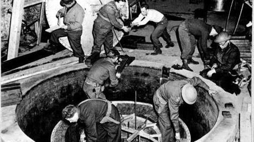 Experimentos nucleares alemanes en 1945