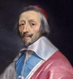 Retrato del Cardenal Richelieu