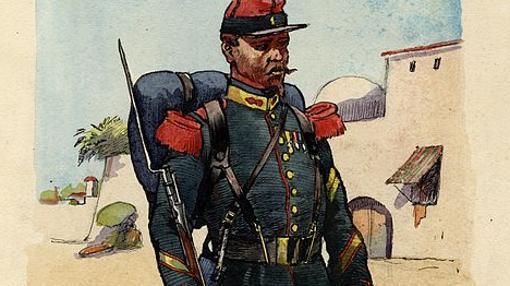 Sargento de la Legión Extranjera, en 1859