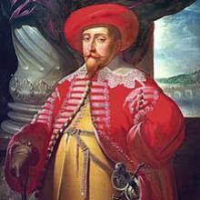 Gustavo II Adolfo vestido a la usanza polaca