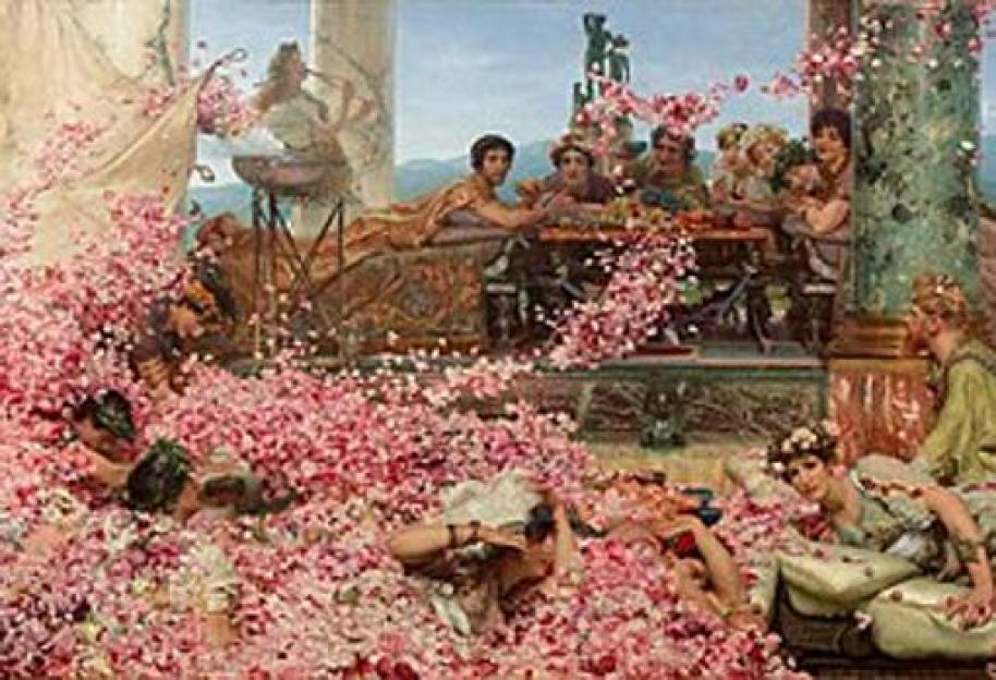 Las rosas de Heliogábalo, Sir Lawrence Alma-Tadema, 1888