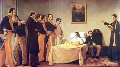 La Muerte del Libertador, por Antonio Herrera Toro