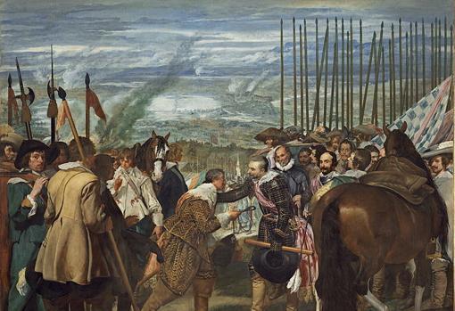 rendición de Breda de 1625, por Diego Velázquez