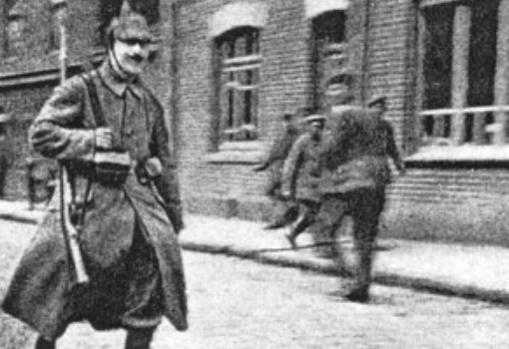 Hitler, durante la IGM