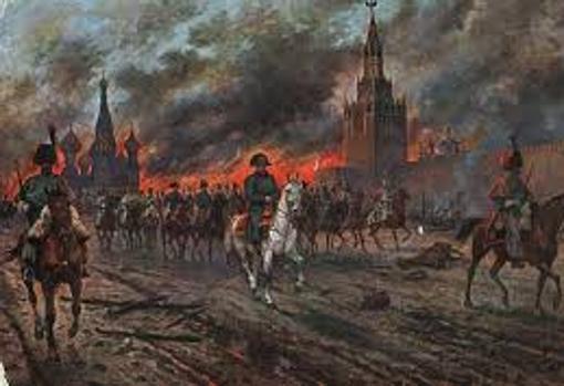 Incendio y saqueo de Moscú