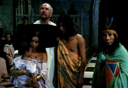 Fotograma de la película «La controverse de Valladolid» (1992)