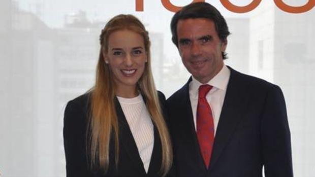 Resultado de imagen para fotos de Tintori y Aznar