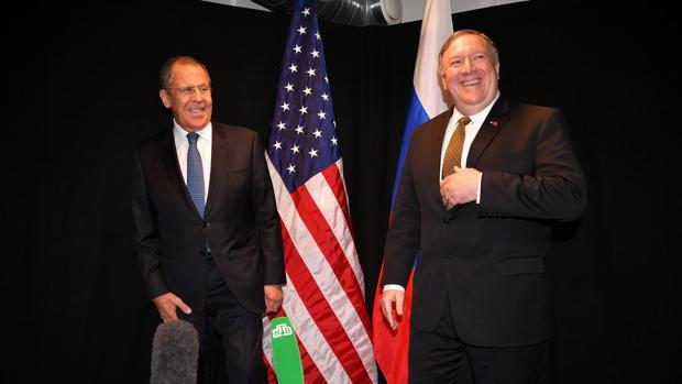 Resultado de imagen para DIALOGO MINISTROS DE RUSIA Y USA