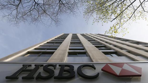Fachada de la sede de HSBC en Parías