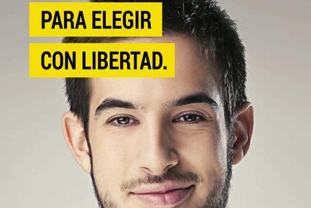 Imagen de la campaña «Me apunto a Religión»