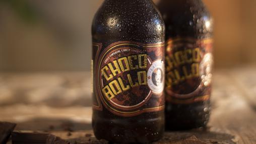 Chocobollo, cerveza negra con pepitas de cacao de La Virgen