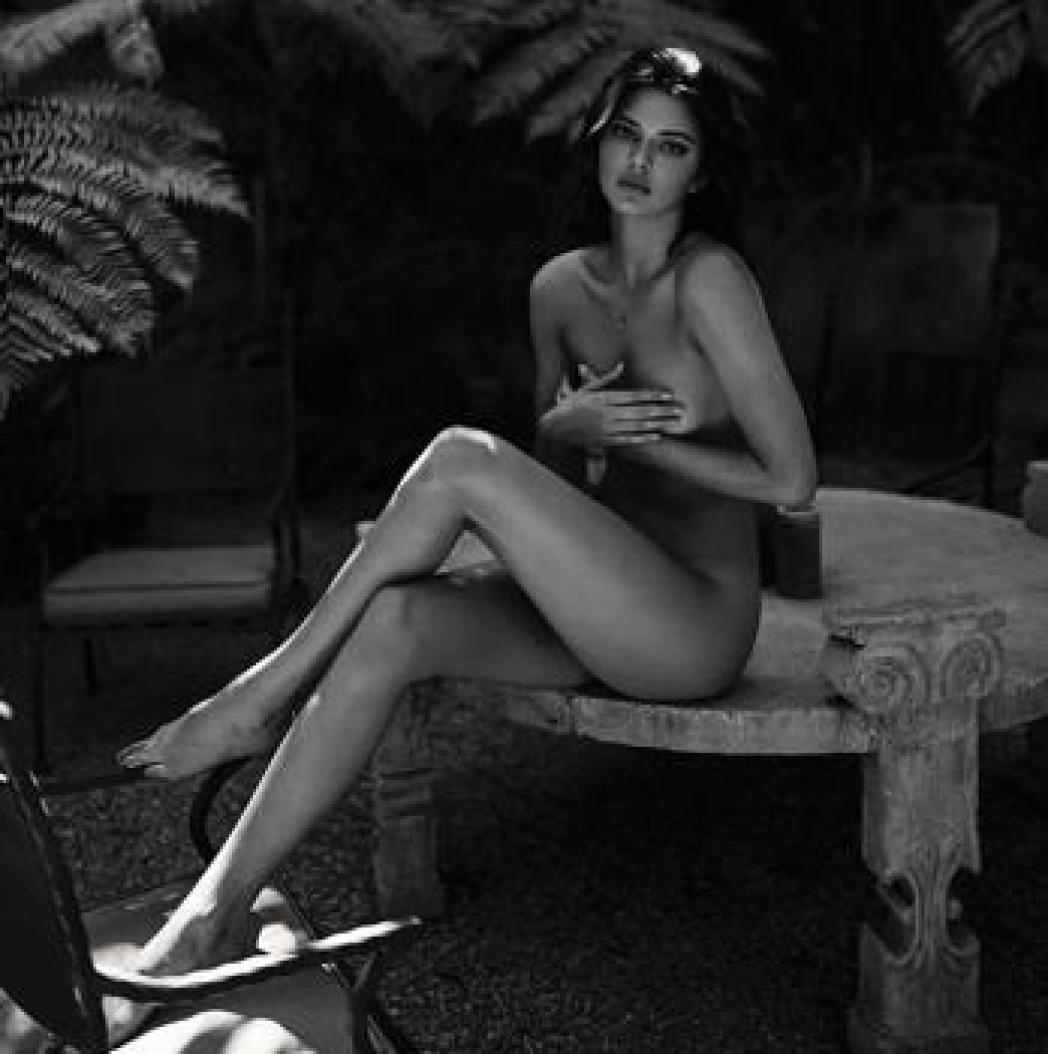 Desnudo de Kendall Jenner
