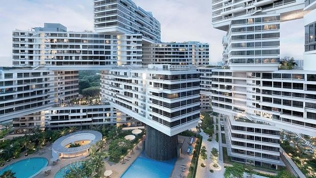 The Interlace, en Singapur