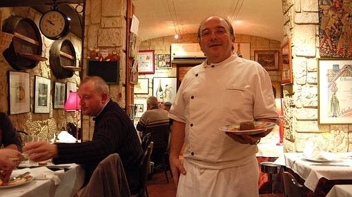 Bernard Ocio, chef del restaurante «La cave à Champagne», en Epernay