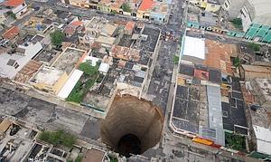 ¿Qué provocó el agujero de Guatemala?