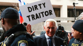 Where does Roger Stone fit in?